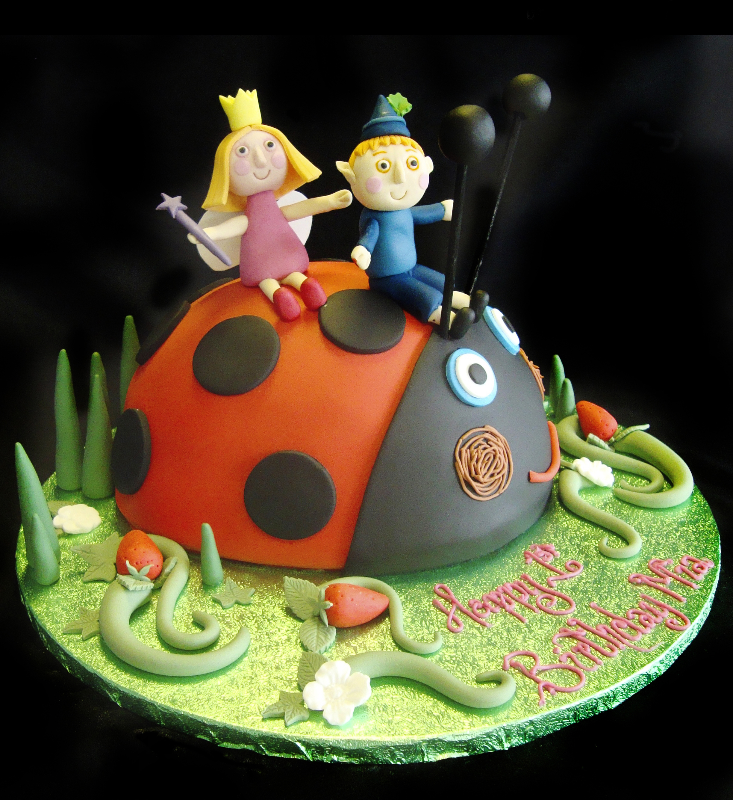 Ben & Holly - Celebration Cakes