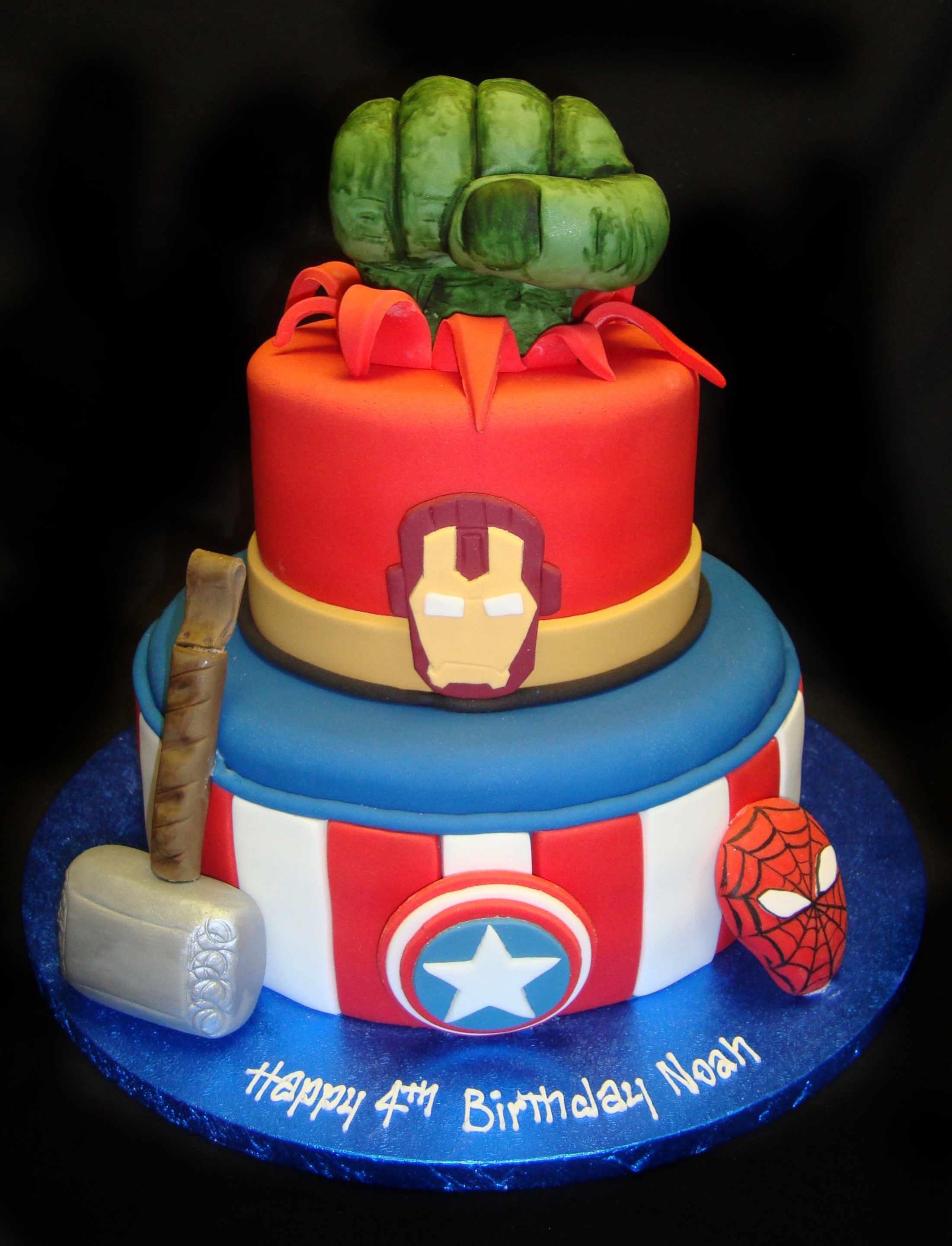 Marvel Hero Cake Ideas