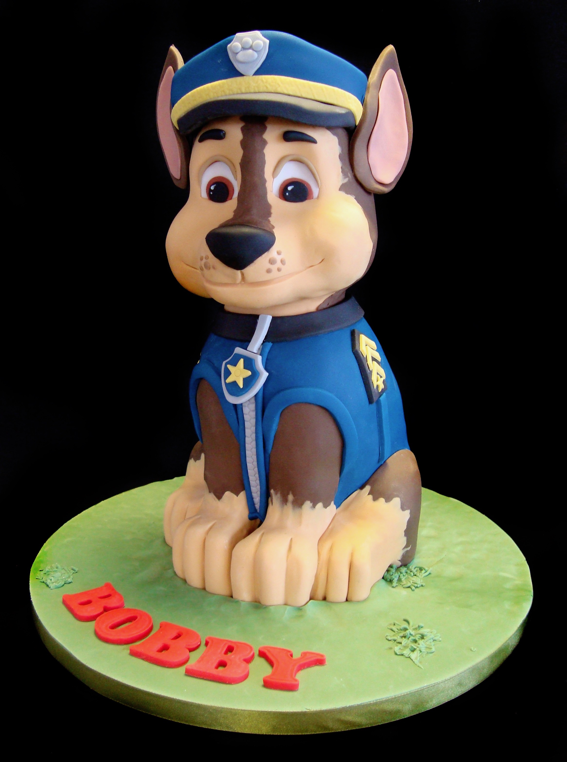 Paw Patrol Chase Celebration Cakes
